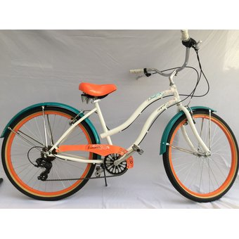 125c19ebfb7 Compra Bicicleta Retro Playera Summer GW Blanca/naranja online ...