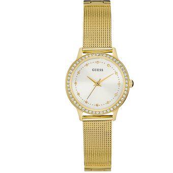 Compra Reloj GUESS Chelsea W0647L7 Dorado Para Mujer online  5518a0a66e93
