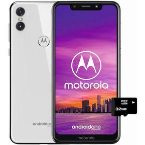 a88ddb70430 Moto One 64gb+4+MicroSD32gb GRATIS Dual Sim Liberado-blanco