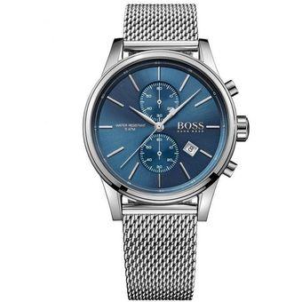 675c4a7c9ba8 Compra Reloj Hugo Boss Jet 1513441 Para Caballero-Plateado online ...