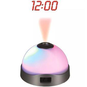 26c021162fb0 Compra Reloj Despertador Con Proyector De Estrellas Y Hora online ...