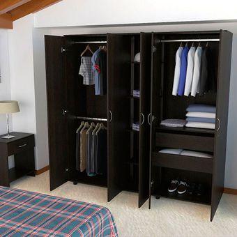 Compra closet montevideo ci rta design sa clw 2058 wengue for Muebles walking closet