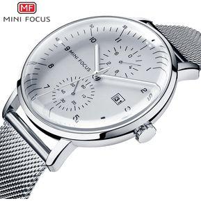 9b7eec068ac3 MINI FOCUS 0052G   Reloj Para Hombre   Movimiento  -Blanco