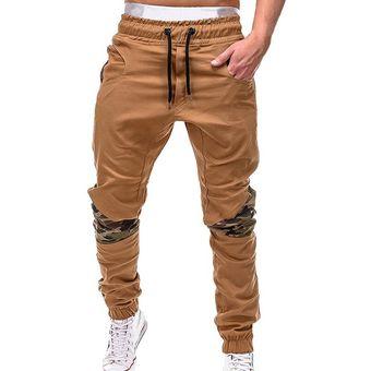 Pantalones Para Hombre De Pantalones De Marca Para Hombre Pantalones Casuales Con Costura De Camuflaje Pantalones De Chandal Caqui De Talla Grande 4xl Color 1 Linio Peru Un055fa07a7r5lpe