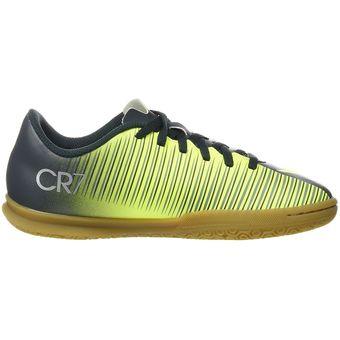 9511aab10025e Zapatos Fútbol Niño Nike Jr Mercurial X Vortex 3 CR7 IC -Multicolor