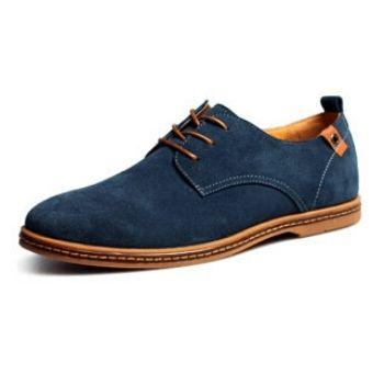 277d5fee Compra Casuales Hombres Zapatos De Cuero Hombre Ante Oxfords Hombres ...