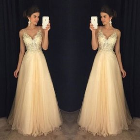 4a45bb73a Vestido formal de noche de lentejuelas de gasa vestido formal