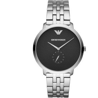 1dfd84970b72 Compra Reloj Emporio Armani Caballero Dress AR11161 - Plateado ...