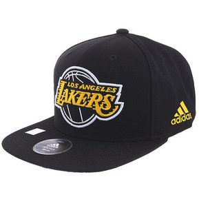 7ed9aacc049fc Gorra Adidas De Los Angeles Lakers Negra 2018