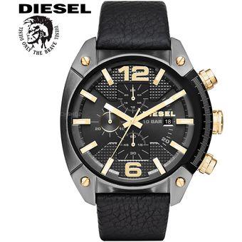 59358556a833 Reloj Diesel Overflow DZ4375 - Analógico Cronometro Fecha – Negro Dorado
