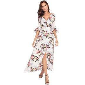 96174f10dc90d Vestido Con Cuello En Vestidos Mujer V Vestido Con Cordones Vestido Casual