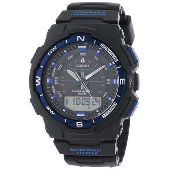 a55bbbe3bd9c Agotado Reloj Casio Outgear SGW500H-2BV Brujula Termometro Goma - Negro Azul