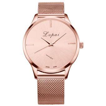 18f6f6612f9c Agotado Relojes LVPAI Moda Caliente De La Venta Lujo Reloj Pulsera Mujer-Rosa  Oro