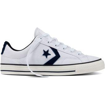 zapatillas converse star player blancas