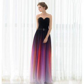 9ad464fc05 Vestido de noche para fiestas Genérico Mujer-Rosa y negro