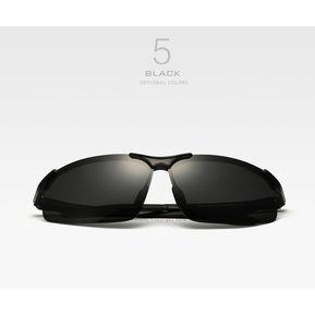 dc0421f611 Aluminio Y Magnesio Gafas De Sol Polarizadas de moda #6502-(negro)