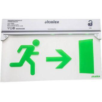 Cartel Señalizador Led Atomlux 9905L «Hombre Corriendo» – Blanco