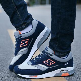 75462efe3 Zapatos Deportivos Con Malla Respirable Tenis Correr Para Hombre -Azul  Marino