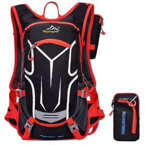 08c56613 Bolsa De Doble Hombro Impermeable Ligero Unisexo - Rojo Clásico