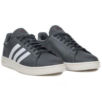 adidas grand court base gris