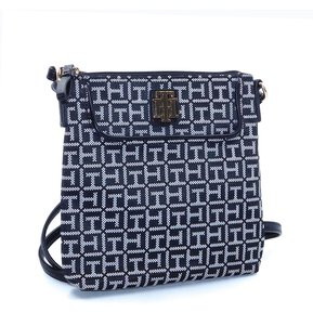 d90d5ad4d277 Morral Tommy Hilfiger Mujer - Negro Blanco