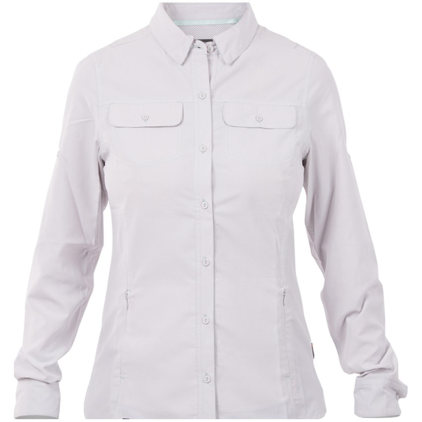 Camisa Rosselot Long Sleeve Shirt Gris Claro Lippi