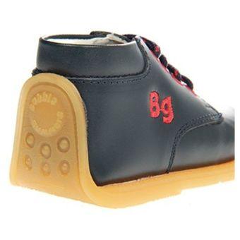 b29c9efa13b04 Agotado Zapatos Bubblegummers De Cuero Para Niño Pibe 006-9802 - Azul