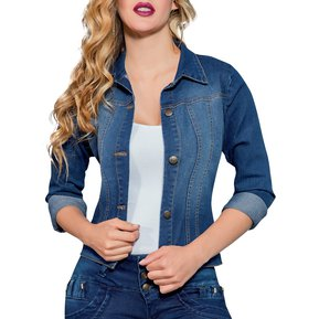 Chaqueta Adulto Marketing Personal Para Mujer Azul 64c9f7578b38