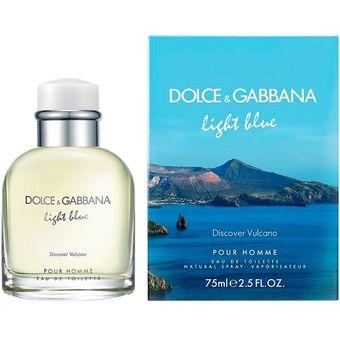 Agotado Light Blue Pour Homme Vulcano 125 ml. EDT MEN - Dolce   Gabbana 6e5ccc233c