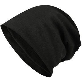 Moda casual al aire libre Hat sólidos salvaje Negro 6dbc869a7e0