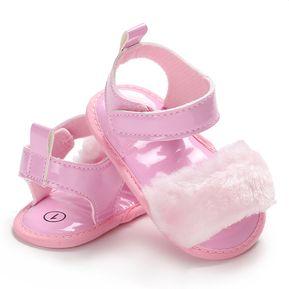 acbbf928 zapatos antideslizantes PU suave piel de bebé moda niños