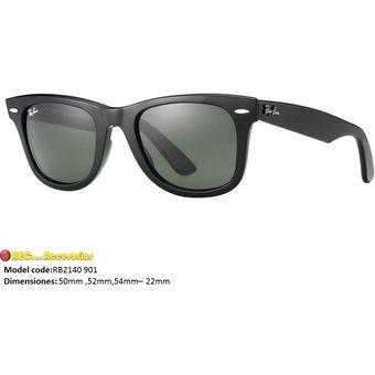 Compra Gafas de sol Rayban Classic Wayfarer Rb2140 Negro Originales ... 0db1b0032a