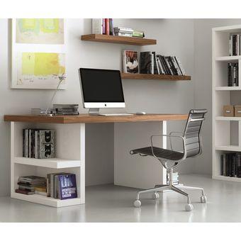 Escritorio dise o minimalista ref denzel pro 160x60x75 - Mesas de escritorio de diseno ...