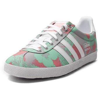 82c5a64ac488f0 Compra Tenis Adidas Gazelle OG M19562 Verde Para Mujer online ...