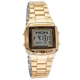 08b6cc3f0b22 Compra Reloj Casio DB360-G-9A Dorado Unisex Databank online