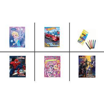 30 Libros Para Colorear Niño Niña Fiesta Regalo Piñata