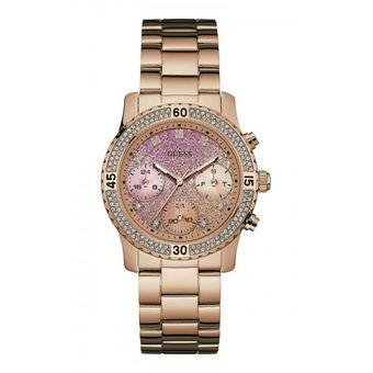 Compra Reloj Guess Confetti W0774L3 Para Dama-Oro Rosa online ... 305902d85f85