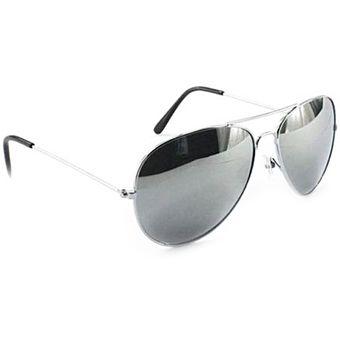 comprar auténtico último vendedor caliente oficial mejor calificado Gafas Espejo Aviador Piloto Unisex Hombre Mujer Lentes Gris