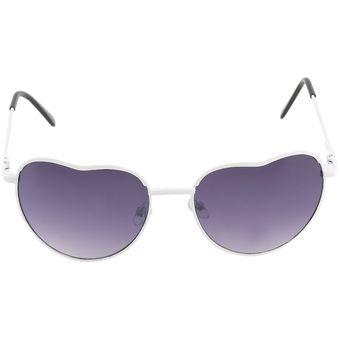 13438f9a52 ER Retro Mujeres Exclusivo Diseño En Forma De Corazón Marco De Aleación De Gafas  Gafas De