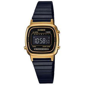 4adb6345252f Reloj Casio Retro Digital Negro Pavonado LA670WEGB-1B