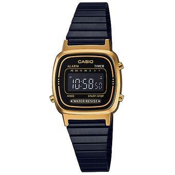 9e1fe5dde7f4 Compra Reloj Casio Retro LA670WEGB-1B Pavonado Con Dorado online ...