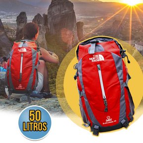 ac056aef5 Morral 50 Litros Maletin The North Face Mochila Impermeable Camping Rojo RF  216