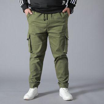Pantalones Multibolsillos Resistentes Al Desgaste Pantalones De Trabajo De Talla Grande Monos Jogger Pantalones Informales De Algodon Superholgado Para Hombre Cui Black Linio Mexico Ge598sp04w8cplmx