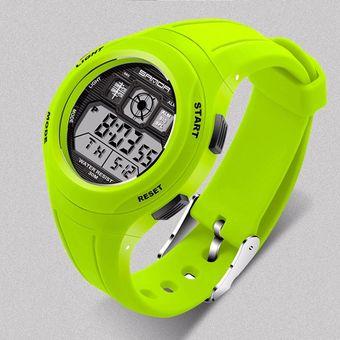 a1e52bbc5c1c Compra Reloj Deportivo Para Niños LED Al Aire Libre-verde online ...