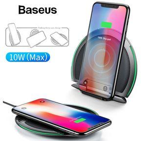 e5051903f76 Cargador Inalámbrico Baseus QI Wireless IPhone XS Max XR X 8 Plus - Negro