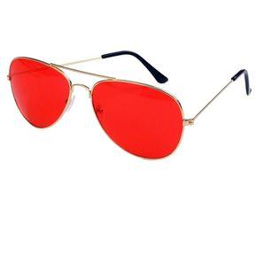 e2dcc666ce Gafas de visión nocturna de bastidor grande UV400 gafas de sol Gafas de  conducción Rojo y