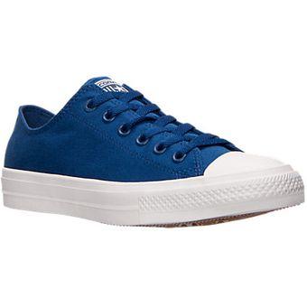 zapatos converse azules