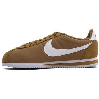 Zapatos Deportivos Hombre Nike Classic Cortez Nylon Café