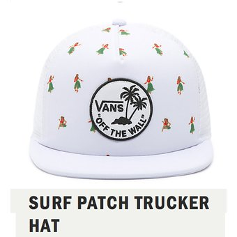 Compra Gorra Vans Original Surf Patch Trucker Hat online  85b93281596