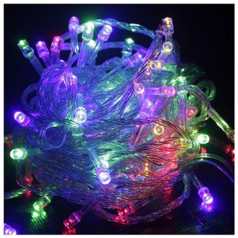 Compra 100 Luces LED Navidad Para Arbol Multicolor online Linio Per